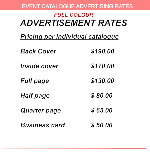 Catalogue Ad Rates for 2016